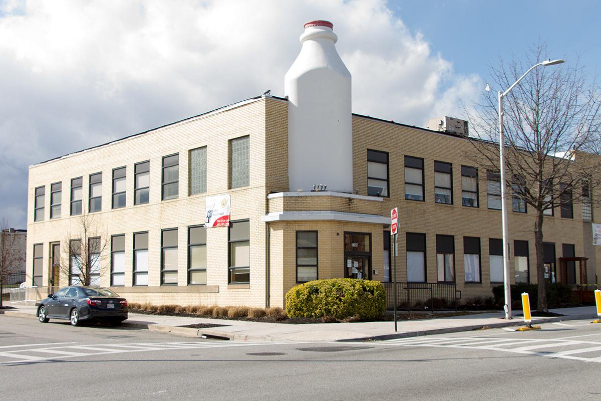Milk Bottle Building